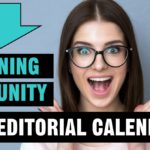 LEARNING COMMUNITY 2017 EDITORIAL CALENDAR